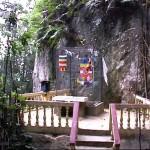 Cage à prières du monastère